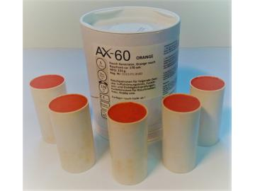 5 Rauchpatronen AX 60 orange